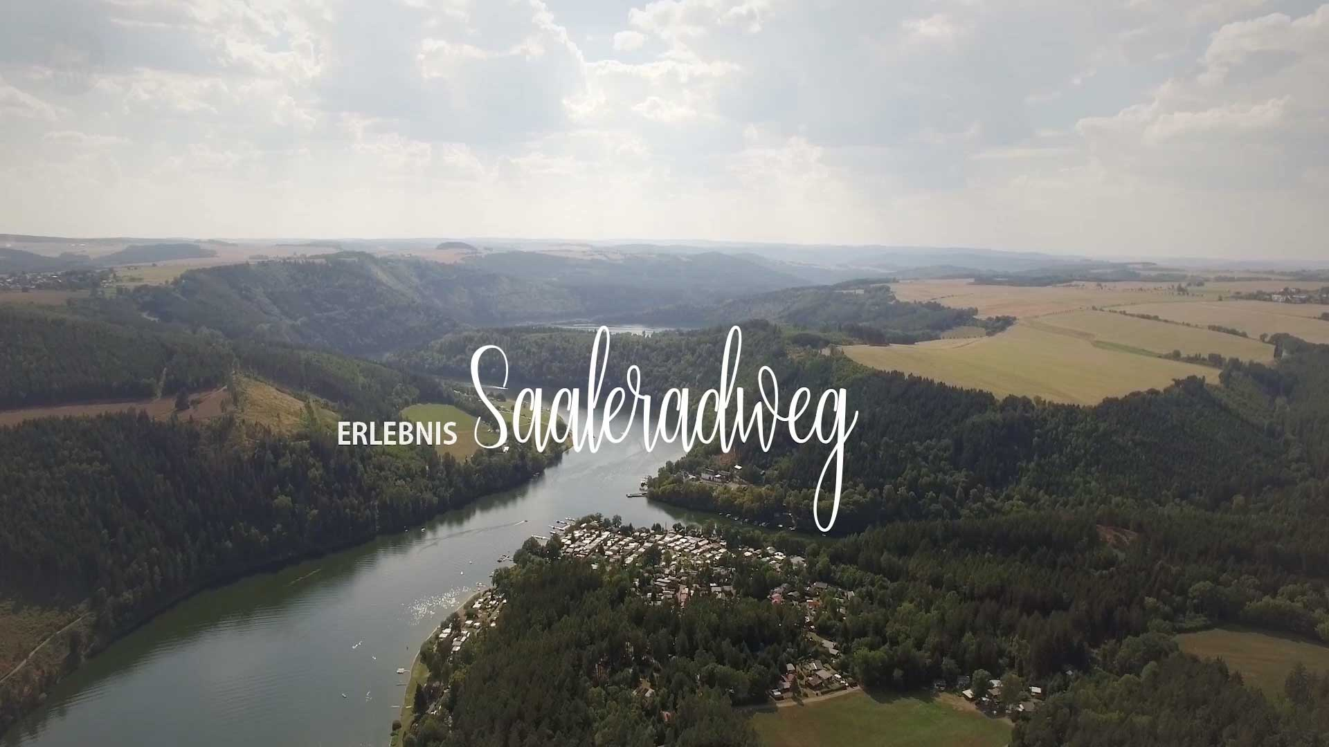 Saale Radweg Karte.Start